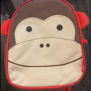 Skip Hop toddler monkey backpack with rein